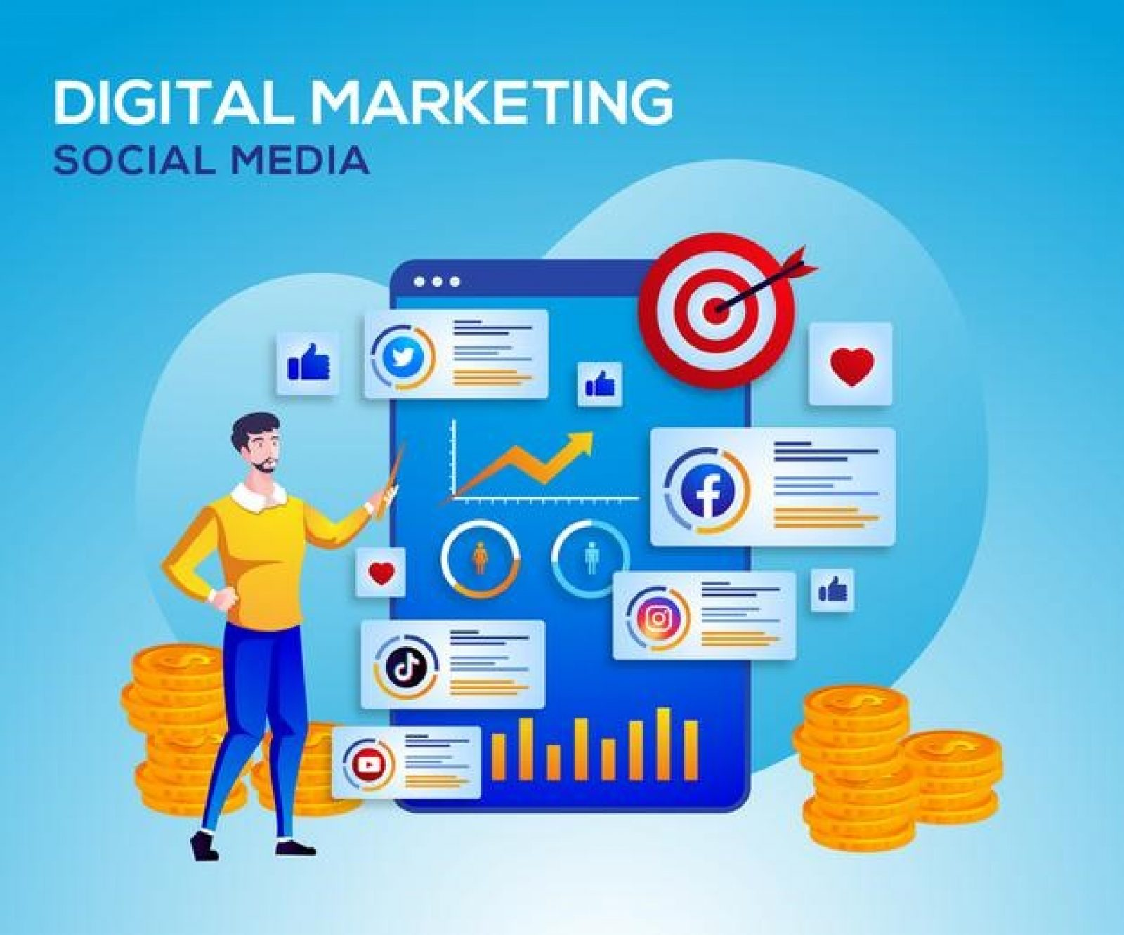 Benefits of Social Media Marketing to Grow Your Business